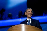 Obama's DNC speech: An exclamation point at the end of a great week