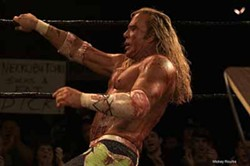 FOX SEARCHLIGHT - OFF THE ROPES: Mickey Rourke in The Wrestler.