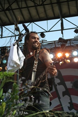 JEFF HAHNE - OH, WHAT A FEELING: Michael Franti at Bonnaroo 2007