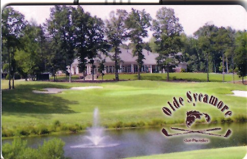 Olde Sycamore - Golf Plantation - Gift Cards are perfect for the golfer in your family! Available in any dollar amount. May be used for golf, pro shop, merchandise, or dining. 7500 Olde Sycamore Drive, exit 44 off of 485. - 704-573-1000 - www.oldesycamoregolf.com