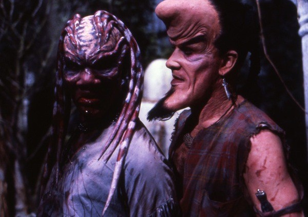 Oliver Parker and Nicholas Vince in Nightbreed - SHOUT! FACTORY