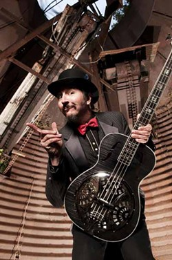 ON HIS OWN: Les Claypool