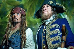 DISNEY - ONCE MORE, WITH FEELING: Johnny Depp and Geoffrey Rush muster energy for yet another Pirates of the Caribbean sequel.