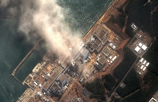One of Japan's three nuclear plants in meltdown.   Photo courtesy Topnews of New Zealand.