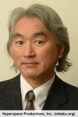 One of my favorite physicists: Michio Kaku