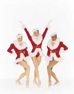 RADIO CITY - One-sixth of the Rockettes appearing in the Radio City Christmas Spectacular