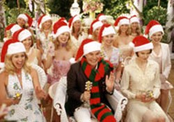 ANDREW SCHWARTZ / PARAMOUNT - ONLY 192 DAYS UNTIL CHRISTMAS Faith Hill, Roger - Bart and Nicole Kidman lead the choir in The - Stepford Wives