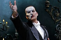 Opening night: <em>The Phantom of the Opera</em>