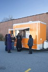 <p><b>ORANGE YOU GLAD TO SEE IT: Harvest Moon Grille's food truck</b></p>