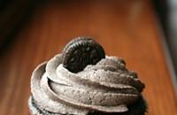 Mint Oreo cupcakes