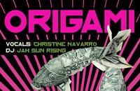 Origami and ninjas at Dharma Lounge