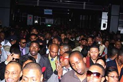 JASIATIC - OUT ON THE TOWN: Just a few of the folks who came to party at CIAA 2009