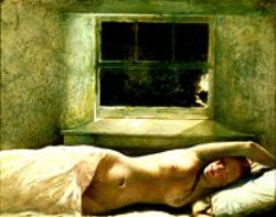 OVERFLOW (1978) by Andrew Wyeth