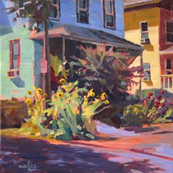 painting by Patti Mollica.