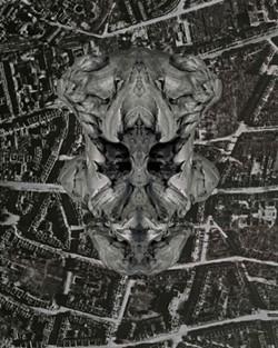 """Panzerwerk Barbara/Wrocaw,"" 2012, digital print on aluminum 44"" x 62""."