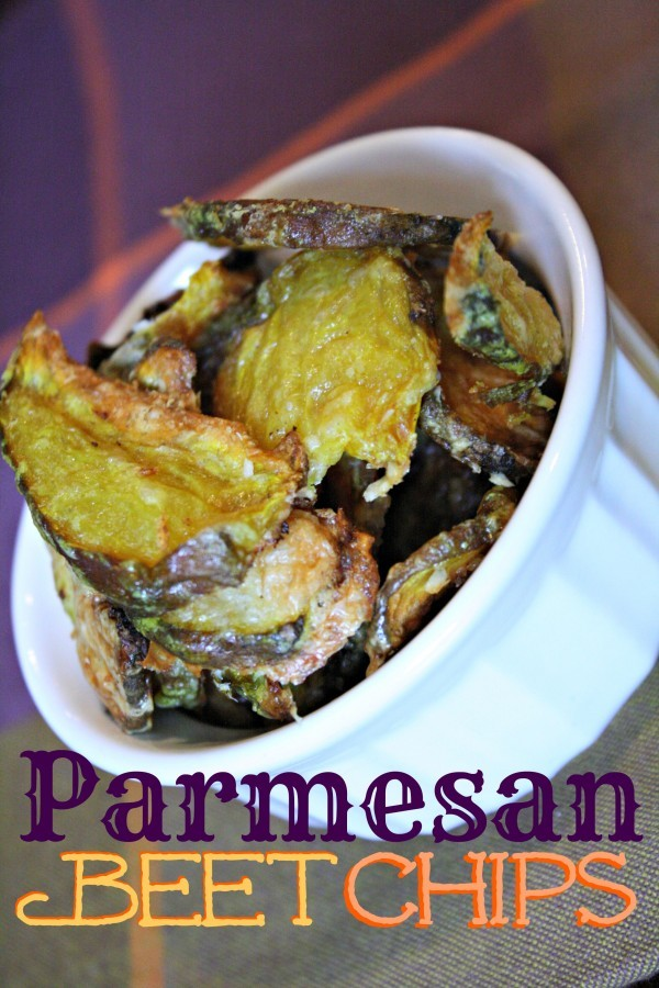 Parmesan Beet Chips