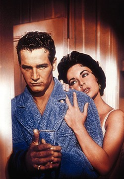 WARNER BROS. - Paul Newman and Elizabeth Taylor in Cat On a Hot Tin Roof