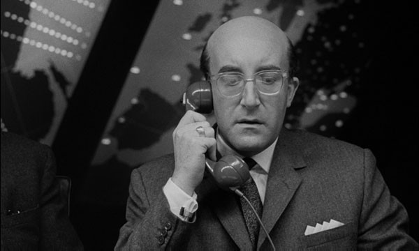 Peter Sellers as President Merkin Muffley in Dr. Strangelove