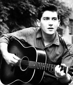 Phil Ochs' 1963 publicity photo