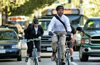 Bike commuters fare better in air pollution study