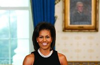 First lady Michelle Obama in Fayetteville Thursday for 'Extreme Makeover'