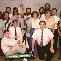 Photo of a CL staff long, long ago