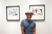 Photos: <em>Elizabeth Arzani + Carmen Neely Exhibit</em> at Mona Gallery, 6/19/2014