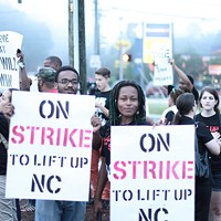 PHOTOS: Fast food workers strike for minimum wage raise