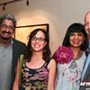 Photos: Reception for <em>Con relación al espacio</em> exhibit at LaCa Projects, 5/8/2014