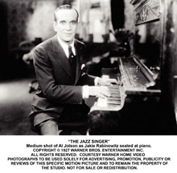 WARNER BROS. - PIANO MAN: Al Jolson as The Jazz Singer