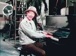 "WARNER BROS. - PIANO MAN Donald O'Connor's ""Make 'Em Laugh"" number from Singin' In the Rain, included in Rhino-Turner's musical anthology reissue."