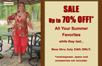 Sale at Scarlett Plus Boutique
