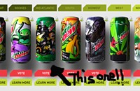 Black Sheep finalist in Mountain Dew Green Label Art Series