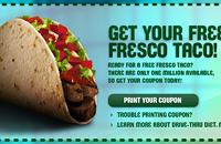 Free Fresco Taco from Taco Bell