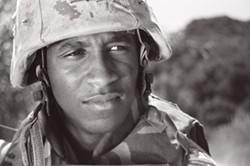 Platoon leader Cpl. Mike Watts, aka Pyro - MARGEAUX BESTARD