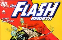 Plotting rather clunky in <i>The Flash: Rebirth No. 4</i>