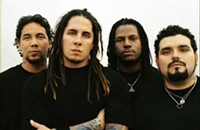 P.O.D., Love and Death at Memorial Stadium today (6/30/2012)