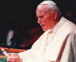 POPE JOHN PAUL II:  Twilight of the shepherd