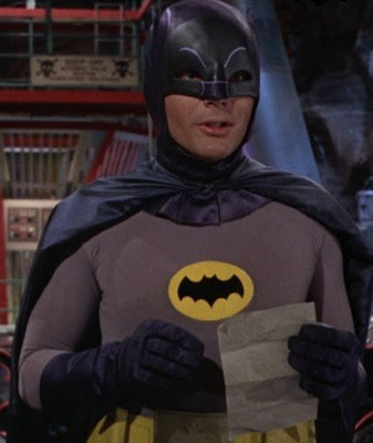 Potential Agent 007 Adam West, here playing another iconic hero - WARNER BROS.