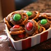Chocolate Pretzel Buttons