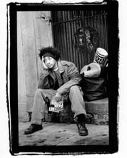RAZOR AND TIE RECORDS - Prince Paul hanging out in 2003