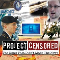 Project Censored's most underreported news stories of 2013