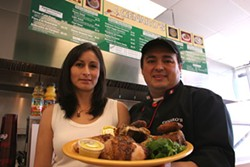 CATALINA KULCZAR - PROUD TO PRESENT: Edith and Julio Macchiavello, owners of Genero's