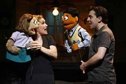 CAROL ROSEGG - PUPPET LOVE: Kate Monster gets a mix tape from Princeton in Avenue Q