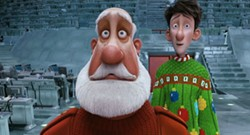 AARDMAN & SONY ANIMATION - PUTTING THE CL IN CLAUS: Santa and Arthur wish Creative Loafing readers a Merry Xmas in Arthur Christmas.