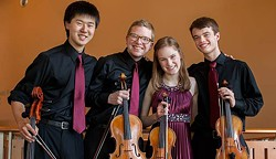 RACHEL STENZEL - Quartet Fuoco, Young Chamber Musicians Competition