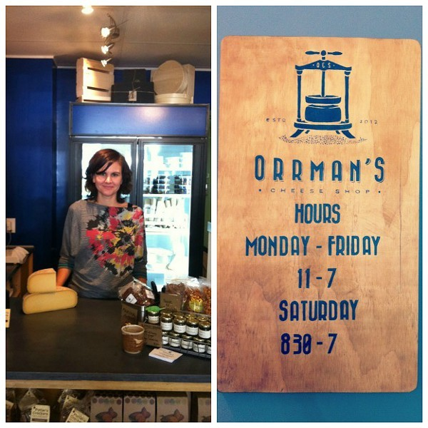 Rachel Klebaur, owner of Orrmans Cheese Shop