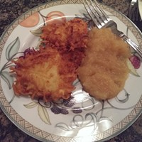 Recipe: Latkes and Applesauce