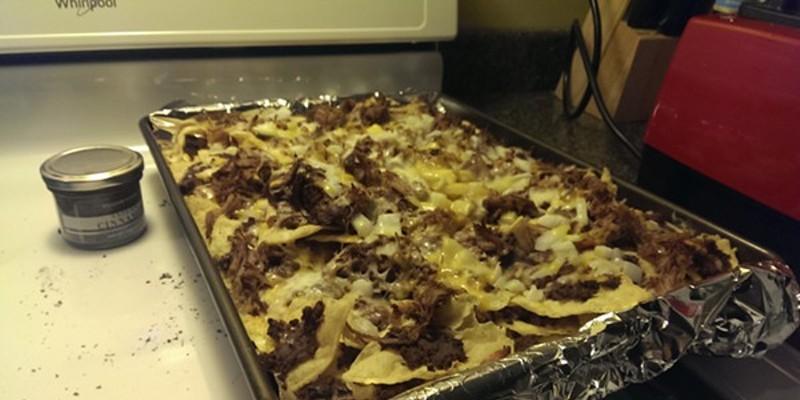 Recipe: Vanilla Coke-Pulled Pork Nachos