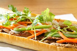 ANGUS LAMOND - Recommendation: Grilled pork banh mi at Le's